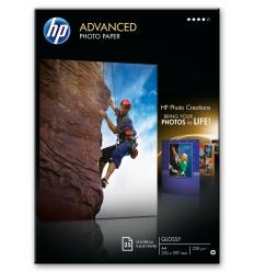 HP Q5456A A4 Kiilto Musta, Sininen, Valkoinen valokuvapaperi