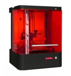 Makex M-one 3D DLP 3DPrintteri, mukaan Vivitek projektori asennettuna