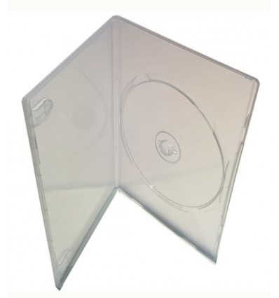 DVD Single Slim 7mm Clear case