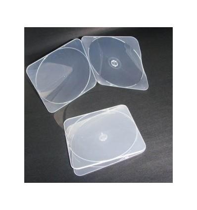Mail Case CD/DVD (PP) Pyöristetty reuna, kirkas ja korkealaatuinen