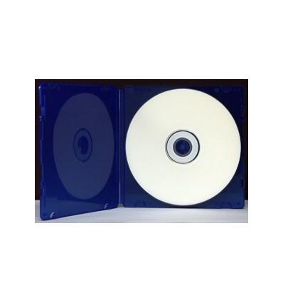 CD PP SlimCase 5,2mm, sininen Blue/Translucent