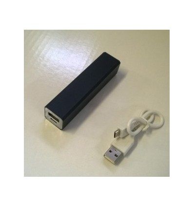 City- Power Bank, Capacity 2200mah Black Accessories 1 USB cable, Adapter x 1