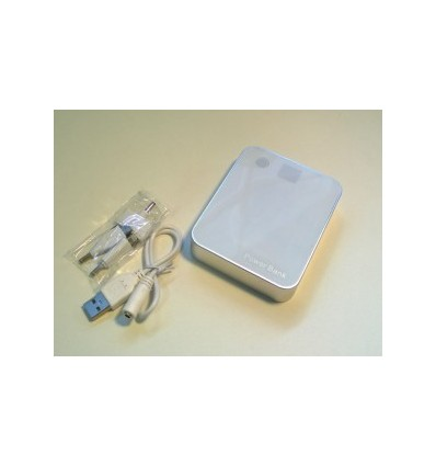 City- Power Bank, Capacity 8800mah White