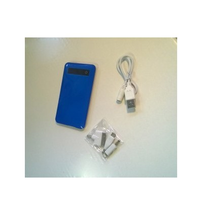 City- Power Bank, Capacity 4000mah Blue