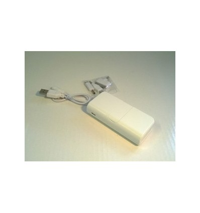 City- Power Bank, Capacity 5600mah White