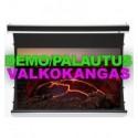 92in 16:9 Luxus Tab Tension moottorikangas mattaharmaa , Viikin Demo Valkokangas
