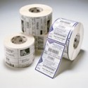 Zebra 12-Pack Label DT 4X6 475/ROLL PE DQP 3000 Valkoinen