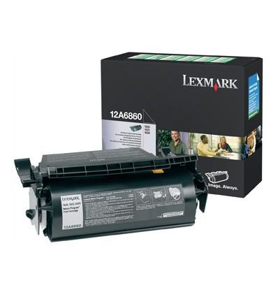 Lexmark 12A6860 värikasetti Alkuperäinen Musta 1 kpl