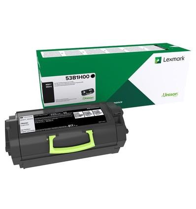 Lexmark 53B2H00 värikasetti Alkuperäinen Musta 1 kpl