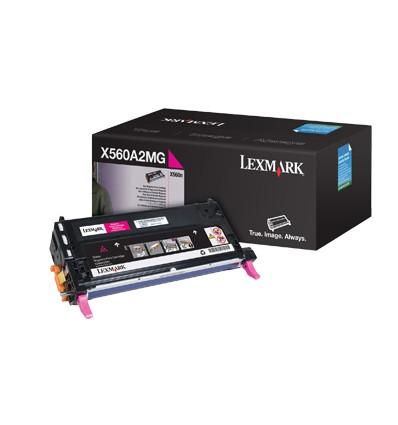Lexmark X560A2MG värikasetti Alkuperäinen Magenta 1 kpl