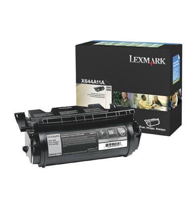 Lexmark X644A11E värikasetti Alkuperäinen Musta 1 kpl
