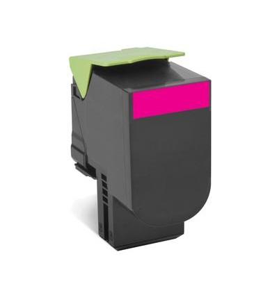 Lexmark 80C2HME värikasetti Alkuperäinen Magenta 1 kpl