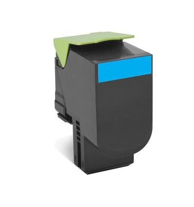 Lexmark 80C2SCE värikasetti Alkuperäinen Syaani 1 kpl
