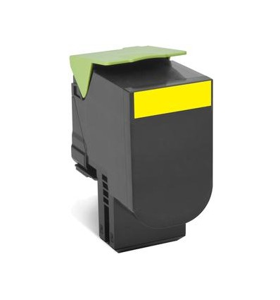 Lexmark 80C2SYE värikasetti Alkuperäinen Keltainen 1 kpl