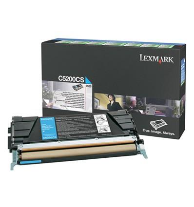 Lexmark C5200CS värikasetti Alkuperäinen Syaani 1 kpl