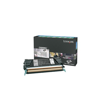 Lexmark C5200KS värikasetti Alkuperäinen Musta 1 kpl