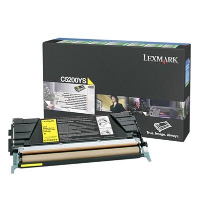 Lexmark C5200YS värikasetti Alkuperäinen Keltainen 1 kpl
