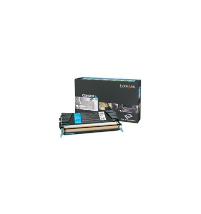 Lexmark C5340CX värikasetti Alkuperäinen Syaani 1 kpl