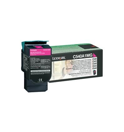 Lexmark C540A1MG värikasetti Alkuperäinen magenta 1 kpl