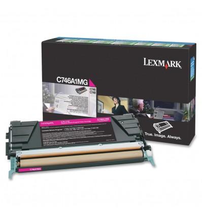 Lexmark C746A1MG värikasetti Alkuperäinen Magenta 1 kpl
