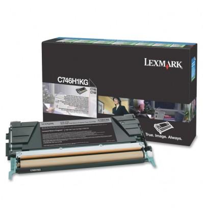Lexmark C746H1KG värikasetti Alkuperäinen Musta 1 kpl