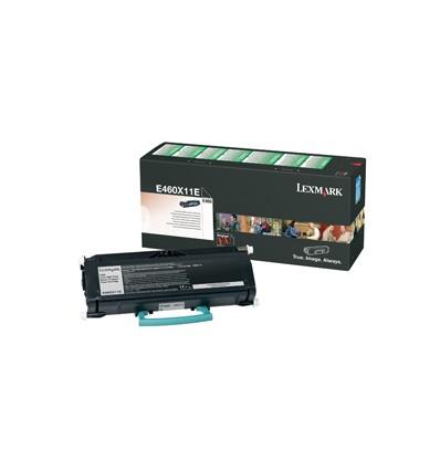 Lexmark E460X11E värikasetti Alkuperäinen Musta 1 kpl