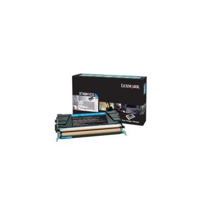 Lexmark X748H1CG värikasetti Alkuperäinen Syaani 1 kpl