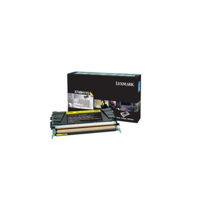 Lexmark X748H1YG värikasetti Alkuperäinen Keltainen 1 kpl