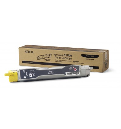 Xerox Keltainen riittoisa värikasetti, Phaser 6350