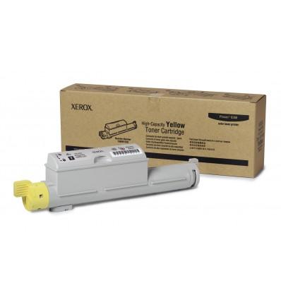 Xerox Keltainen Riittoväriainekasetti, Phaser 6360