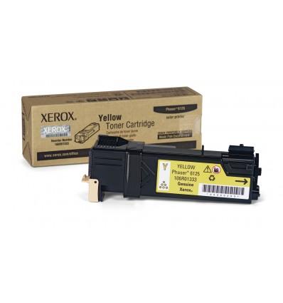 Xerox Keltainen Värikasetti, Phaser 6125