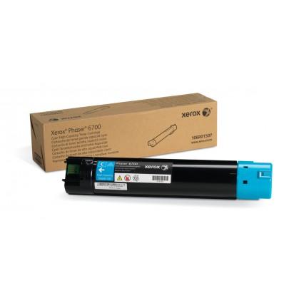Xerox Syaani värikasetti (suuri kapasiteetti) (12 000 sivua) Phaser 6700