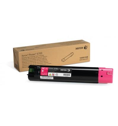 Xerox Magenta Värikasetti (Suuri Kapasiteetti) (12 000 Sivua) Phaser 6700