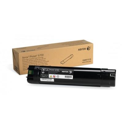 Xerox Musta Värikasetti (Suuri Kapasiteetti) (18 000 Sivua) Phaser 6700