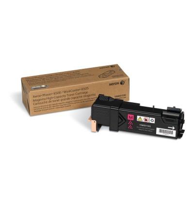 Xerox Phaser 6500/Wc 6505, Magenta Värikasetti (Suuri Kapasiteetti, 2500 Sivua)