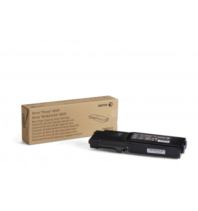 Xerox Phaser 6600/Workcentre 6605, Musta Värikasetti (Suuri Kapasiteetti, 8 000 Sivua)