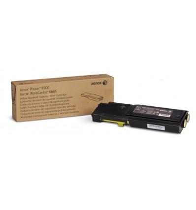 Xerox Phaser 6600/Workcentre 6605, Keltainen Värikasetti (Normaali Kapasiteetti, 2 000 Sivua)