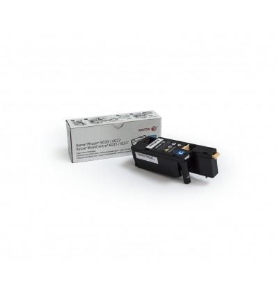Xerox Phaser 6020/6022 / Workcentre 6025/6027 Syaani Värikasetti (Normaali Kapasiteetti, 1 000 Sivua