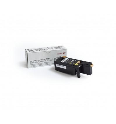 Xerox Phaser 6020/6022 / Workcentre 6025/6027 Keltainen Värikasetti (Normaali Kapasiteetti, 1 000 Si