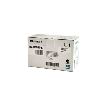 Sharp MXC30GTC värikasetti Alkuperäinen Syaani 1 kpl