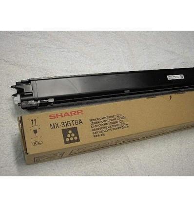 Sharp MX-31GTBA värikasetti Alkuperäinen Musta 1 kpl