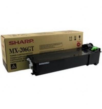 Sharp MX206GT värikasetti Alkuperäinen Musta 1 kpl