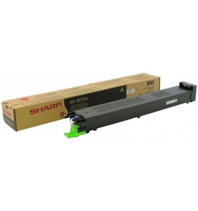 Sharp MX-18GTBA värikasetti Alkuperäinen Musta 1 kpl