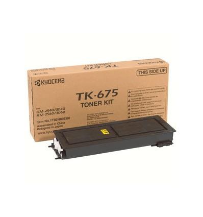 KYOCERA TK-675 Alkuperäinen Musta 1 kpl