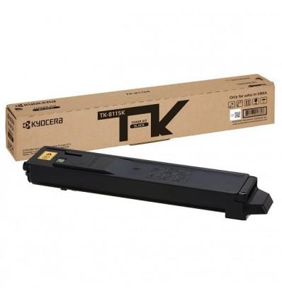 KYOCERA TK-8115K Alkuperäinen Musta 1 kpl
