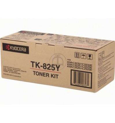 KYOCERA TK-825Y Alkuperäinen Keltainen 1 kpl