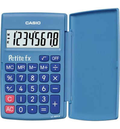 Casio Petite FX laskin Tasku Perus Sininen