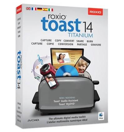 Corel Toast 14 Titanium, ML, 501-2500U, Mac 501 - 2500license(s) Monikielinen