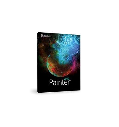 Corel Painter 2016 Upgrade 1 - 4u Päivitys Saksa, Ranska
