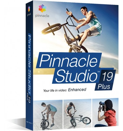 Corel Pinnacle Studio 19 Plus Monikielinen